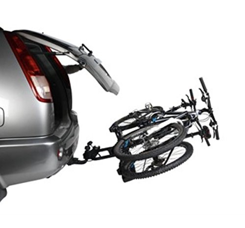 Portabicicletas adorno norauto antirrobo y inclinable 2 bicicletas: Amazon.es: Coche y moto