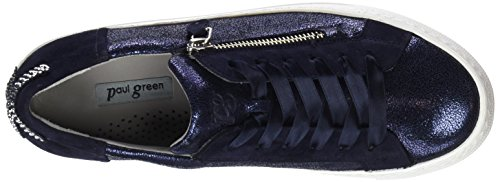 12 Saphir Baskets saphir sz Met Green blau Paul blau Cracked Femme Multicolore 7ZPYq
