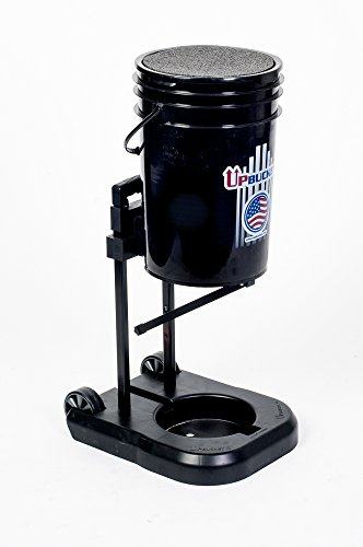 Baseball, Softball, Tennis Ball Bucket - UpBucket Elevates & Rolls, Great for any sport! by UpBucket.com