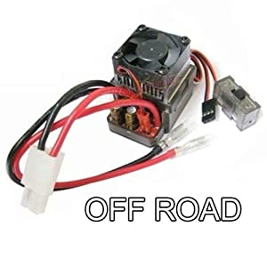 Hobbypower 320A High Voltage Brushed ESC Speed Controller for RC Off-road Car Truck