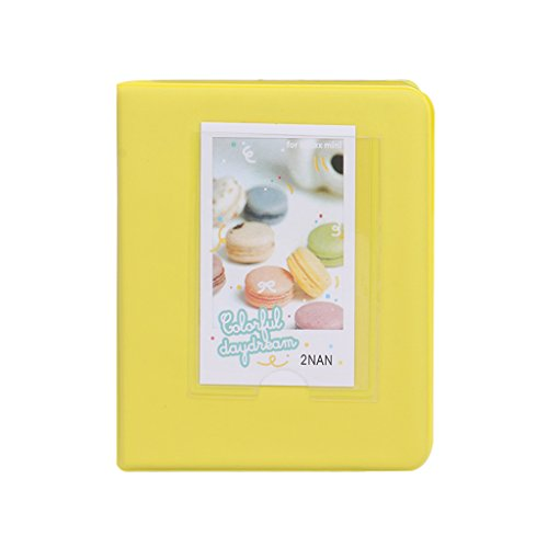 Buybuying Photo Album Book Film Cases For Fujifilm Fuji Polaroid Instax Mini8 7s 25 50s 90 5 Colors Optional (Yellow)