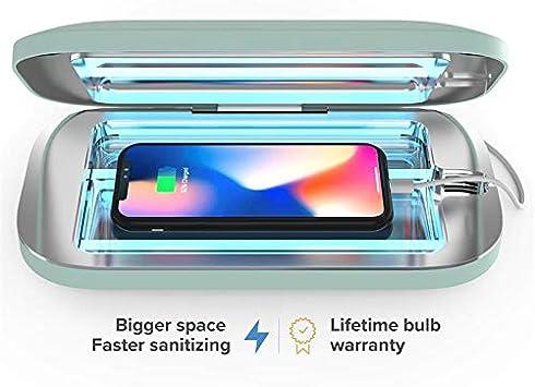 PhoneSoap Pro - Desinfectante UV para Smartphone y Cargador ...