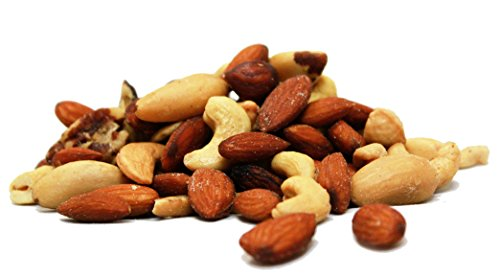 Deluxe Gourmet Raw Mixed Nuts (No Peanuts) by Its Delish, 5 lbs ()
