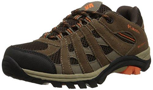 [Columbia Youth Redmond Explore WP Trail Shoe (Little Kid/Big Kid), Mud, 1 M US Little Kid] (Boys Boots Sale)