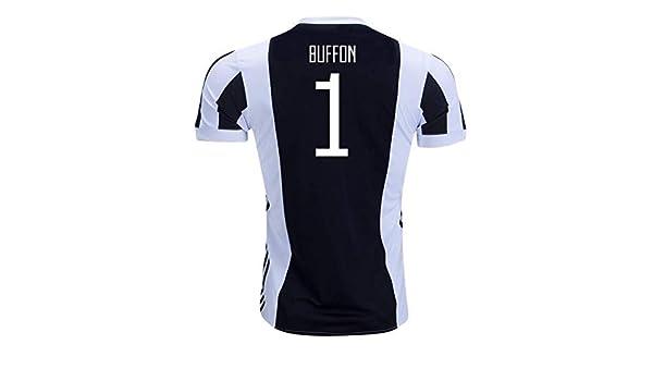 c1f235cab Amazon.com   2017-18 Juventus Home Football Soccer T-Shirt Jersey  (Gianluigi Buffon 1) - Kids   Sports   Outdoors