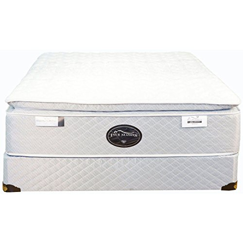 (Spring Air King Back Supporter Four Seasons Athena Plush Pillowtop Mattress)