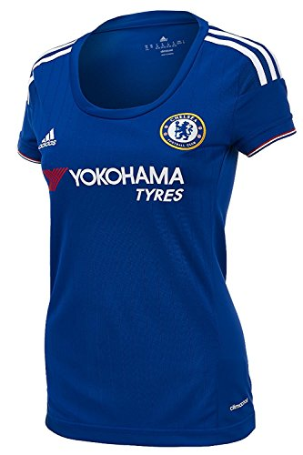168cbc7f adidas Womens Chelsea Home Jersey 2015-2016 (L)