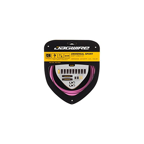 Jagwire Universal Sport Shift Cable Kit, Pink