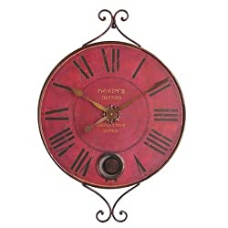New Haven Metal Pendulum Clock