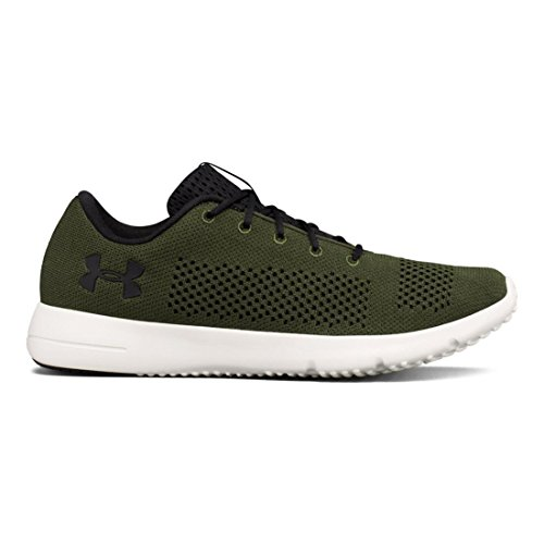 Under Armour Men's Ua Rapid Competition Running Shoes, Black Rifle Green/Stone/Black