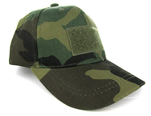 Trooper Clothing Kids 6 Panel Tactical Cap,BDU Camouflage, BDU Camouflage, One Size
