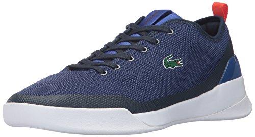 Lacoste Men's LT Dual 317 1 Sneaker, Blue, 10.5 M US