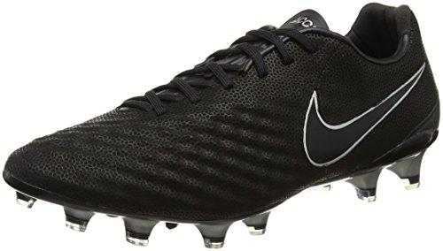 Nike Heren Magista Opus Ii Tech Craft 2.0 (leer) Fg Schoenplaatjes (zwart / Zwart)