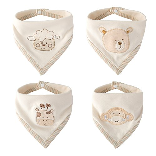 Super Cute Bandana Bib - Best for Drooling and