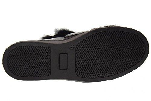 B54829 Pour Noir black Basses Baskets de Chaussures MORELLI Femme YwqSAtx