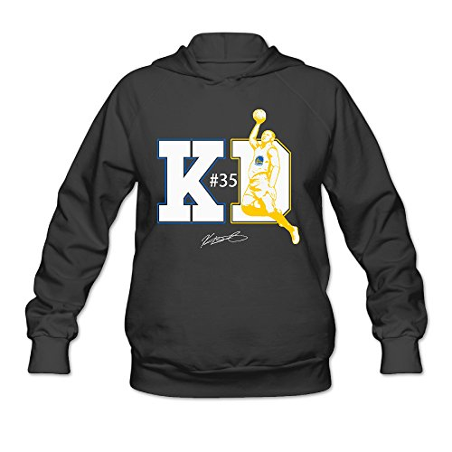 Bro-Custom #35 KD Hoodie For Women Size XL Black (Samsung Microwave Ring compare prices)