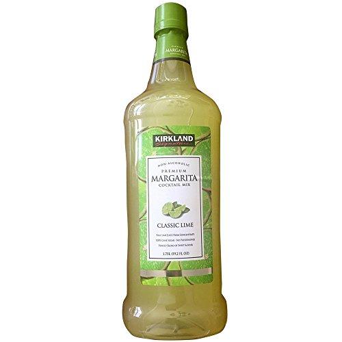 - Kirkland Signature Premium Margarita Cocktail Mix - Non-Alcoholic - CLASSIC LIME / 1.75l., 59.2 Fl. Oz.
