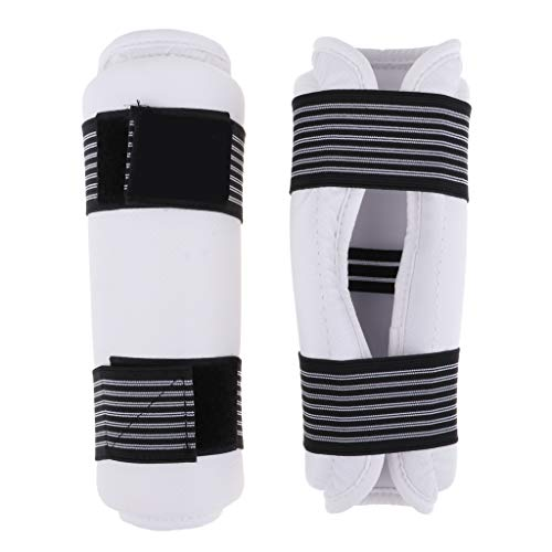 Baosity Taekwondo Forearm Guard Karate Sparring Martial Elbow Arm Protector Protective Gear for Adult Youth Junior Kids - XS ()