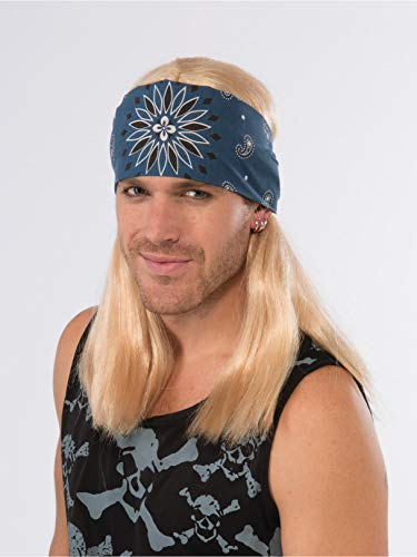 Forum Novelties Party Rock Star Wig with Bandana]()