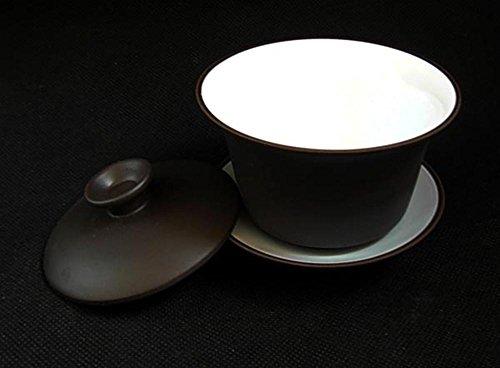 Yixing Teacup 5oz/150ml Kungfu Tea Bowl Classic Gaiwan Cup by YIXING (Image #3)