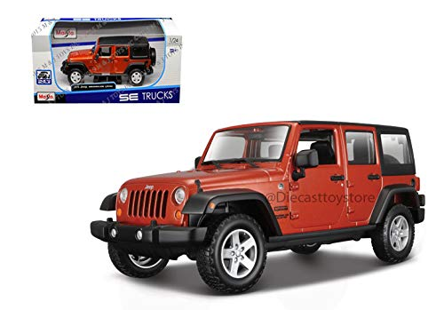 MAISTO 1:24 W/B - SPECIAL EDITION TRUCKS - 2015 JEEP WRANGLER UNLIMITED 31268OR
