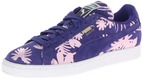 Puma Dames Suède Klassiek Tropicalia Sneakerspectrum Blauw