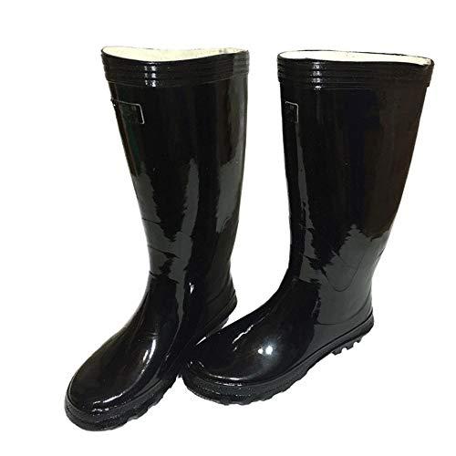 di gomma acqua da EU Alto uomo Boot da Stivali scivolose Dimensione 40 Hunter Scarpe Stivali da Stivali tubo da lavoro stile Scarpe Vecchio pioggia nxntE4