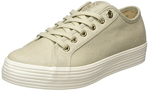 Champagner Mujer para Zapatillas Beige s Oliver 23622 UxIpwqpY0