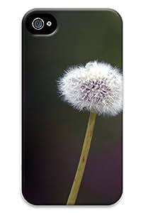 Online Designs Dandelion purple background PC Hard new iphone 4 case for men cool wangjiang maoyi