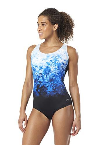 Speedo Color Fusion Ultraback - Powerflex Eco, Navy, - Swimwear Eco