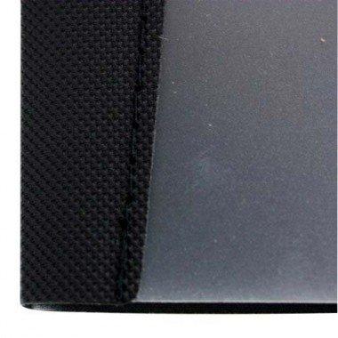 GBC Impact Designer Clip Report Cover, 30 Sheet Capacity, 11.5 x 9.3 Inches, Black (W21513)