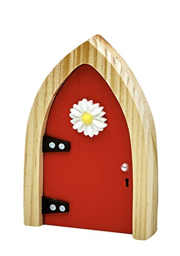 The irish fairy door company red arched door includes for My irish fairy door