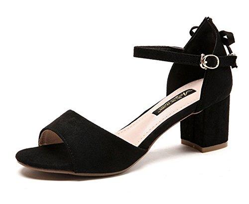Hebilla Una Alta Con Zapatos Sra Uva Cool De Meili Gránulos q0g68