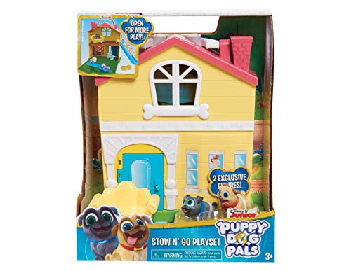 Dog Playset - Puppy Dog Pals 94216 Stow N Go Playset, Multicolor