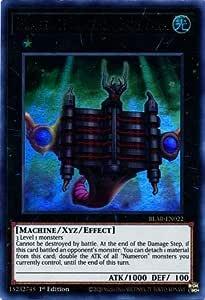 YGO-1x-Near Mint-Number 2: Numeron Gate Dve Ultra Rare 1st Edit BLAR-EN023