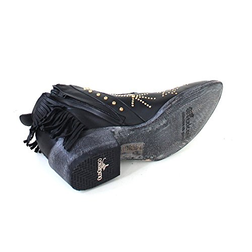Mexicana Women's Cowboy Boots Black (black silky cowhide) l6JbHPoy