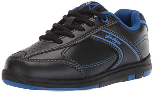 KR Strikeforce Bowling Shoes Youth Flyer Bowling ShoesBlack/Magenta Blue M US, Black/Magenta Blue, 3 ()