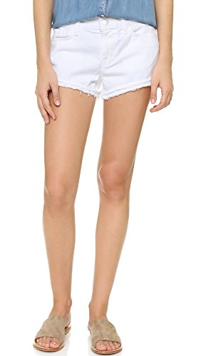 J Brand Women's Sachi Cut Off Shorts, White, 27 by J Brand Jeans