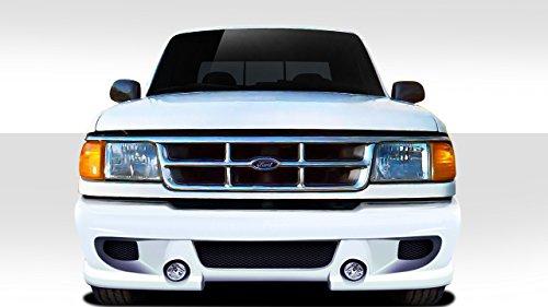 BT-1 Front Bumper Cover - 1 Piece Body Kit - Fits Ford Ranger 1993-1997 - Ford Ranger Fiberglass Fenders