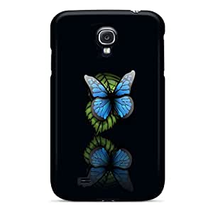 High Quality JTOshop Butterfly Skin Case Cover Specially Designed For Galaxy - S4