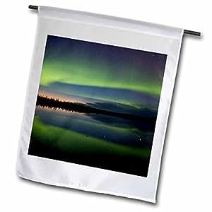 Danita Delimont - Northern Lights - Alaska, Arctic Circle, Bettles, Northern lights - US02 BJA0288 - Jaynes Gallery - 18 x 27 inch Garden Flag (fl_87406_2)