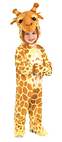 UHC Baby's Giraffe Toddler Jungle Safari Theme Fancy Dress Halloween Costume, 2T-4T