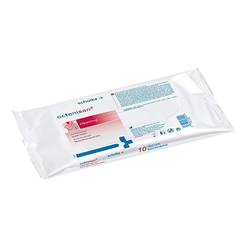 Octenisan Washcloth for Skin Cleansing and Skin Care by Schlke & Mayr
