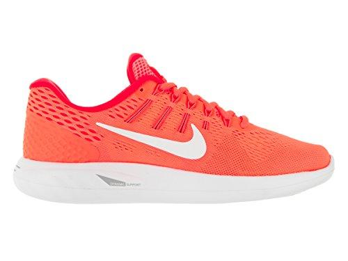 Zapatillas nike Wmns Nike Lunarglide 8rojo/blanco Bright Mango/Bright Crimson/Peach Cream/White