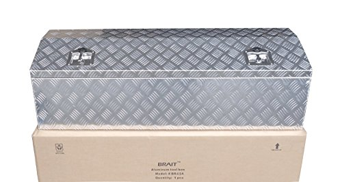 Brait BR44 Aluminum Truck Pickup tool Box ATV Trailer Gar...