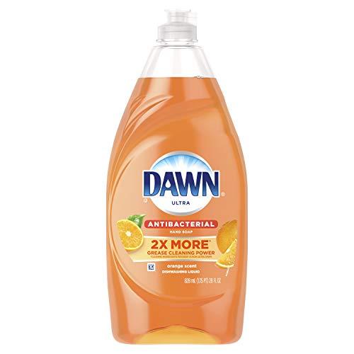 Dawn Ultra Antibacterial Hand Soap, Dishwashing Liquid Dish Soap Orange, 28 Ounce ()