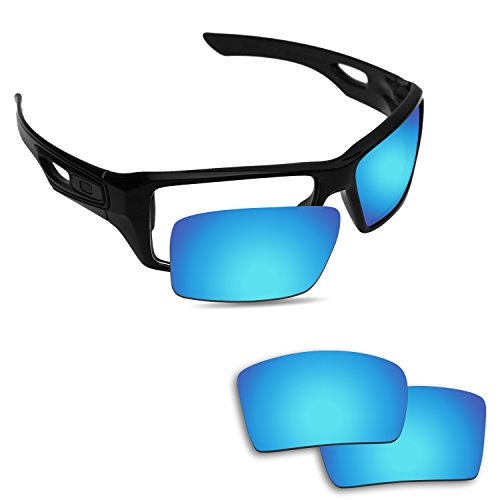 Fiskr Anti-saltwater Replacement Lenses for Oakley Eyepatch 1&2 Sunglasses - Various - Oakley Replacement Eyepatch 2 Lenses
