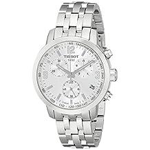 Tissot T0554171103700 Men's PRC200 Wrist Watch, Silver Dial