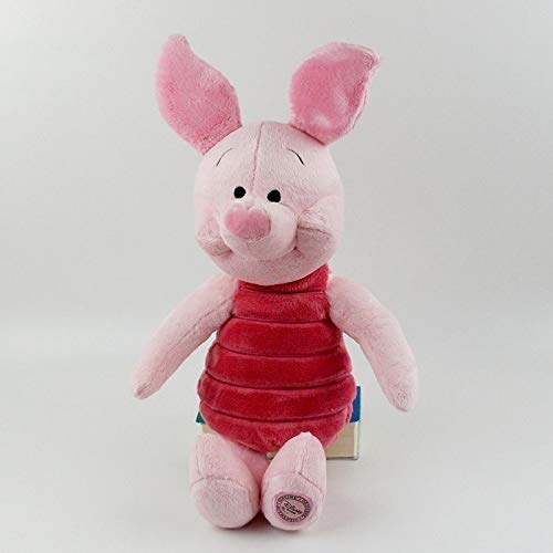 PAPWELL Piglet Plush 15 inch Pig Winnie The Pooh Disney Large Animal Toy Big Halloween Toys Huggable Doll Stuffed Cuddly Gift Collectable Birthday Gifts Cute Animal Collectibles Cool Collectible -