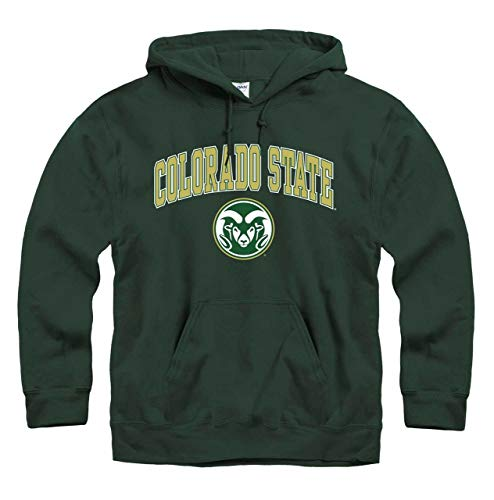 (Colorado State Rams Arch & Logo Gameday Hooded Sweatshirt -)